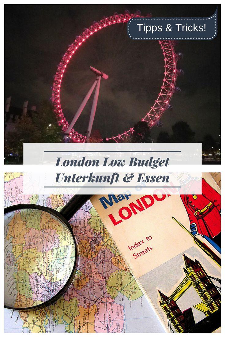 London ist teuer! Gerade mit wenig Geld ist es oft nicht leicht, zu reisen und Städte zu erkunden. Ich euch vor, wie ihr günstig in London übernachten Könnt (Hostel, Hotel oder Airbnb?) und wo ihr toll Essen könnt. Eine Low-Budget Reise in die Hauptstadt von England!