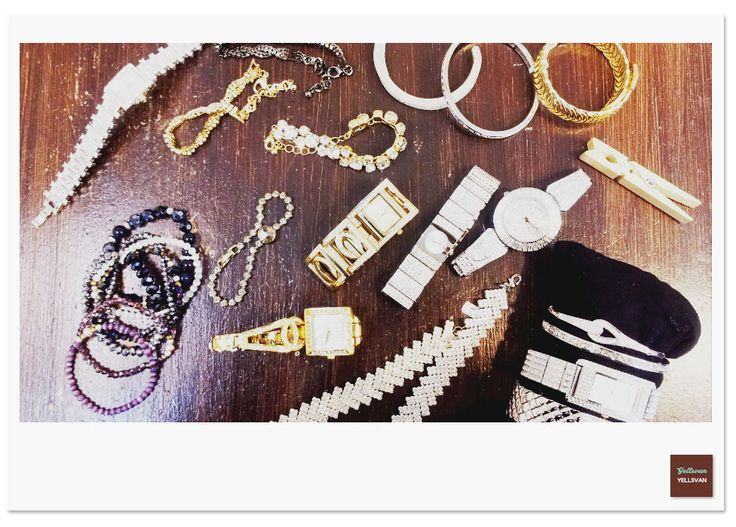 Yellsvan Style #Design #Yellsvan #layered #watch #bracelet #gold #antique style
