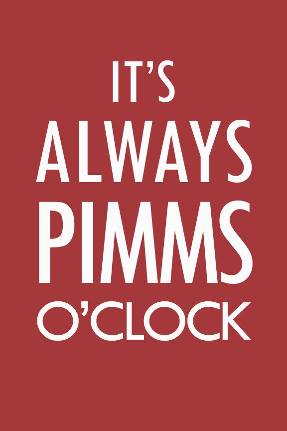 Now that it's summer it's time to revive my love of the Pimms Cup.