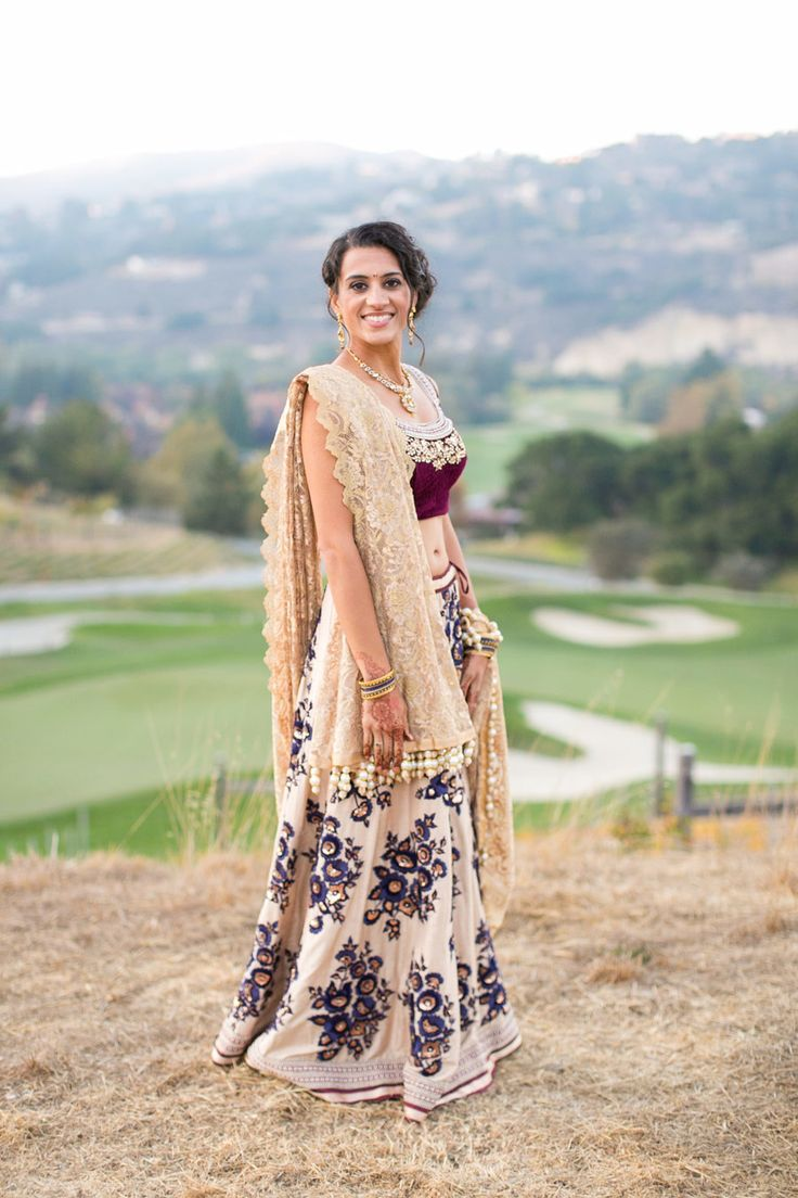 All sorts of gorgeous. Photography: Birds Of A Feather - birdsofafeatherphoto.com Read More: http://www.stylemepretty.com/california-weddings/2014/06/06/colorful-indian-wedding-2/