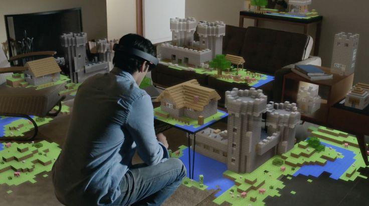 Imaginando a vida com o HoloLens
