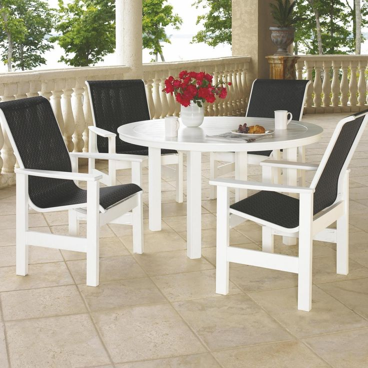 Find This Pin And More On Sling Patio Furniture.