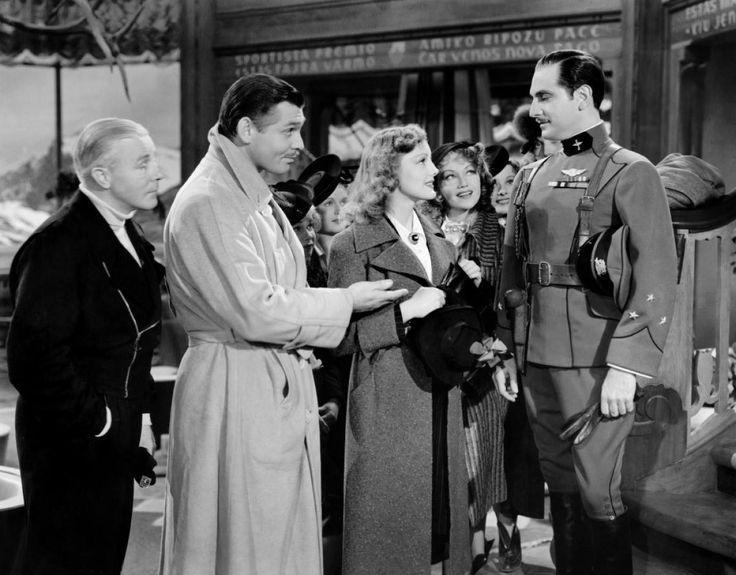 Richard 'Skeets' Gallagher, Clark Gable, Virginia Grey & Joseph Schildkraut…