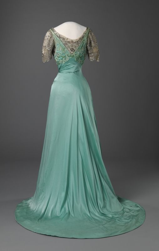 Evening Dress, Laferrière, ca. 1909