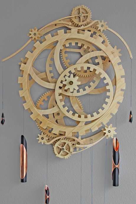 Free Wooden Gear Clock Plans PDF - WoodWorking Projects & Plans