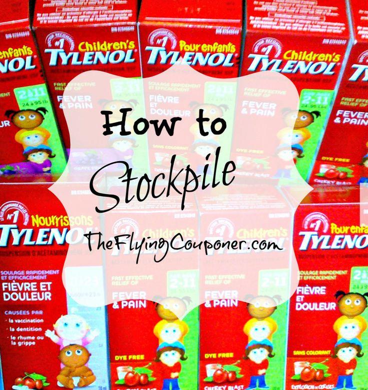 How to Stockpile #couponing #extremecouponing- The Flying Coupoer