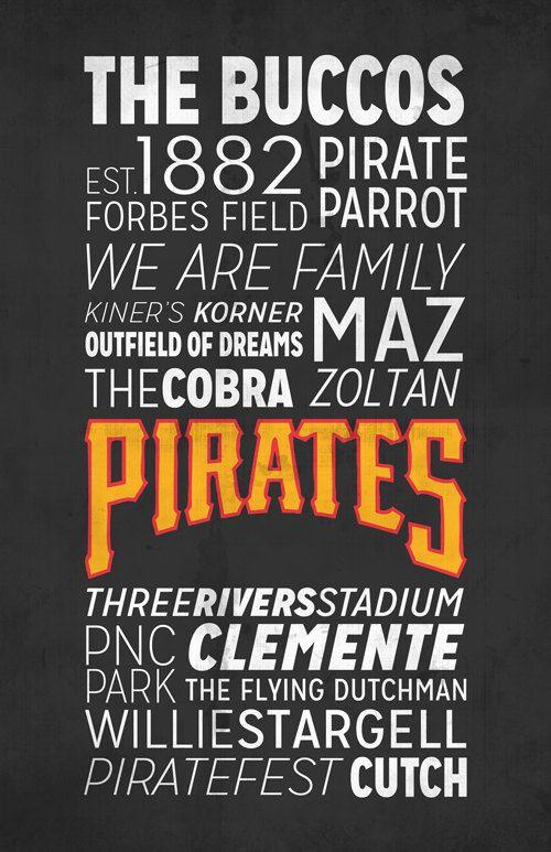 Pittsburgh Pirates Poster!