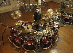 Terry Bozzio's Drum Kit