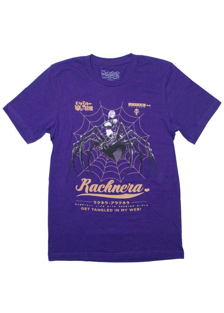 Monster Musume Rachnera Web T-shirt - Sentai Filmworks - anime - 3