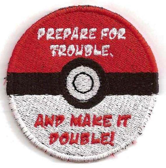 Pokemon Team Rocket Patch by StoriedThreads on Etsy, $10.00