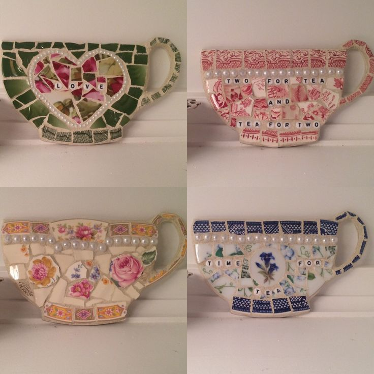 A personal favorite from my Etsy shop https://www.etsy.com/listing/261493315/teacup-mosaic