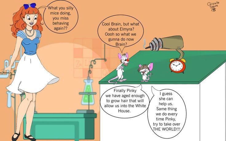 Pinky and brain by GunRaider on DeviantArt