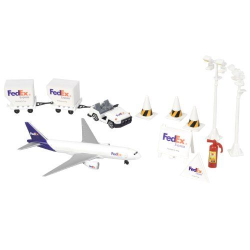 Fedex Express Airplane Airport Hub Set Mat By Daron 29 51 Fedex Express Airport Activity