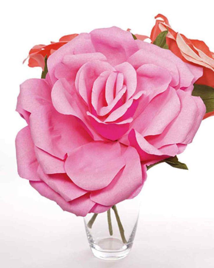 Crepe-Paper Roses
