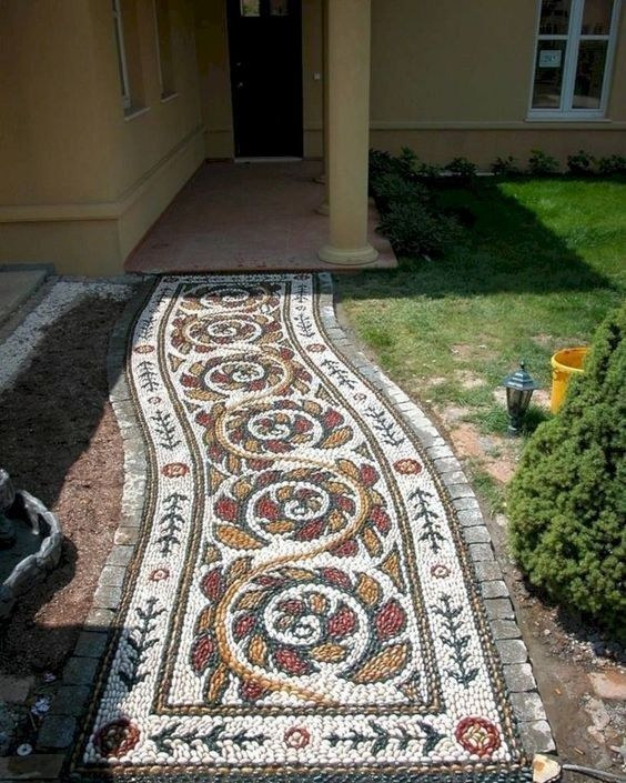 36 magnificent diy mosaic garden path decorations for your inspiration 13 | maan…