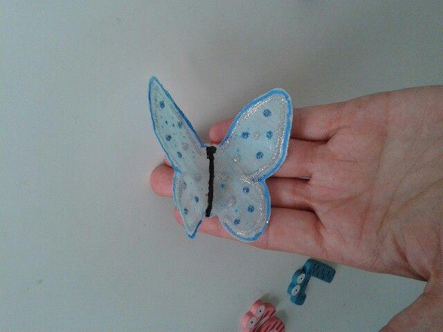 Mi primera mariposa de gelatina comestible