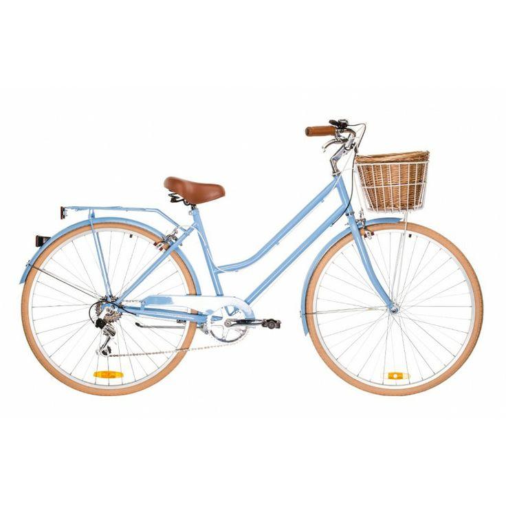 Reid Vintage Ladies Bicycle 6 Speed - Baby Blue
