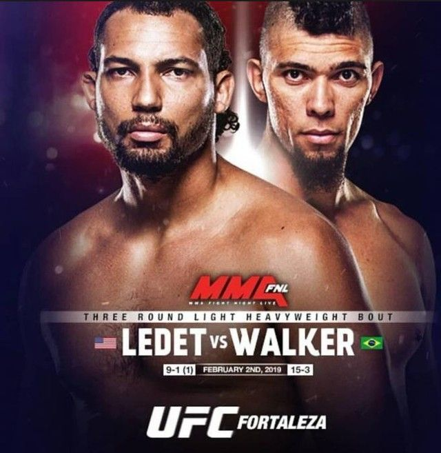 Don T Miss Justin Ledet Ledet Justin Vs Johnny Walker Johnnywalkerufc At Ufc On Espn 2 Ledet Suffered His First Career Loss A Ufc Fight Night Ufc Mma