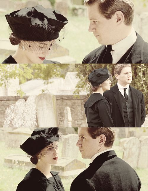 I came to give my regards to miss Swire, AND TO SEE SYBIL!!! DU