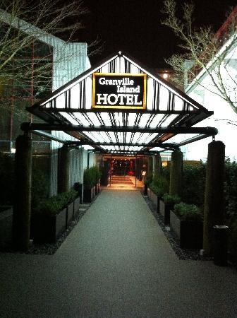 Granville Island Hotel in Vancouver, BC