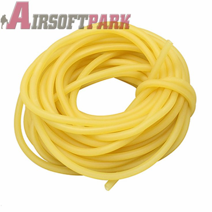 Slingshots Rubber Tube  Natural Latex 1M Rubber Tubing Band For Outdoor Slingshot Hunting Catapult Elastic Necessary Tool