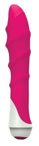 The Gossip Lily from Curved Novelties is something to talk about. This powerful, multi-function vibrator has 7 gossip worthy modes of vibration and pulsation. Waterproof for fun in or out of the shower. Uses 2 AA batteries. Waterproof. Unscented, non-porous, and hypoallergenic. Made from silicone massager, and ABS plastic with polyurethane PU Coat base, cap.