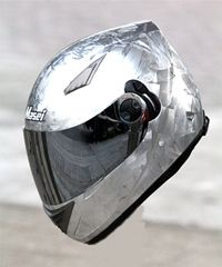 Masei Silver Ice Chrome 830 Full Face Motorcycle Helmet Free Shipping