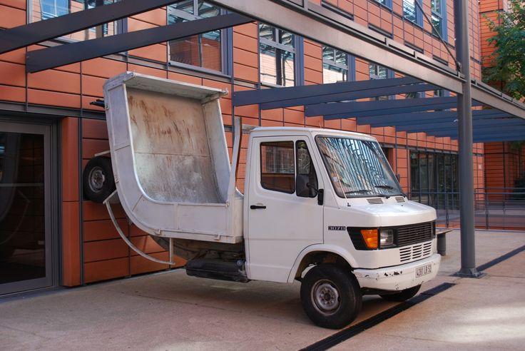 Truck by Erwin Wurm