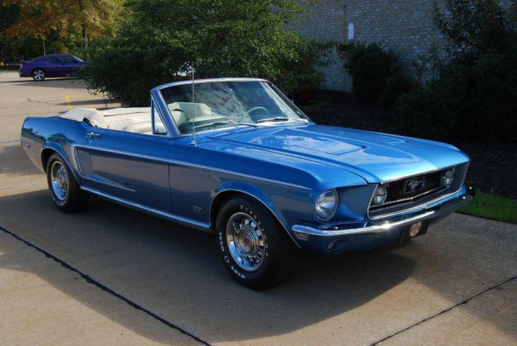 1968 Mustang GT convertible