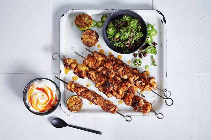 """This recipe is quick, simple, full of flavour and packed with all the good stuff to refuel after a big day,"" says Hayden Quinn, who used chicken thigh pieces in this simple recipe."