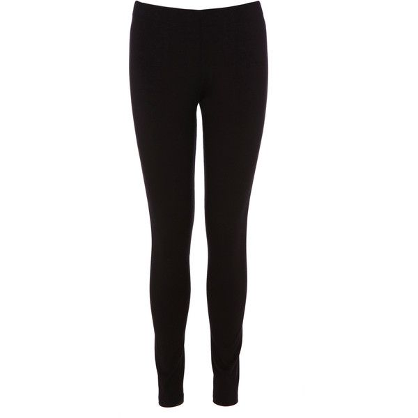 OASIS Basic Leggings (29 CAD) ❤ liked on Polyvore featuring pants, leggings, bottoms, jeans, calças, black stretch pants, full length leggings, stretch pants, stretchy leggings and jersey leggings