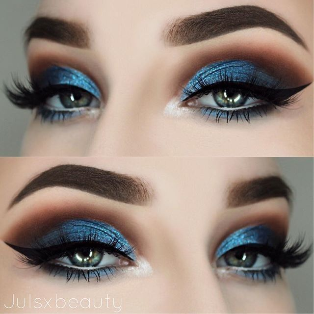 "23.1k Likes, 62 Comments - Lime Crime (@limecrimemakeup) on Instagram: "" Gorgeous blue eye look using FILTER and BOOT from #VENUS2 via @julsxbeauty """