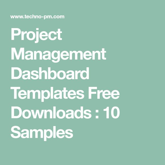 The  Best Project Management Dashboard Ideas On