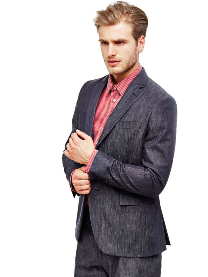 EUR259.00$  Buy now - http://vizfr.justgood.pw/vig/item.php?t=pw37me25744 - MARCIANO CLASSIC BLAZER