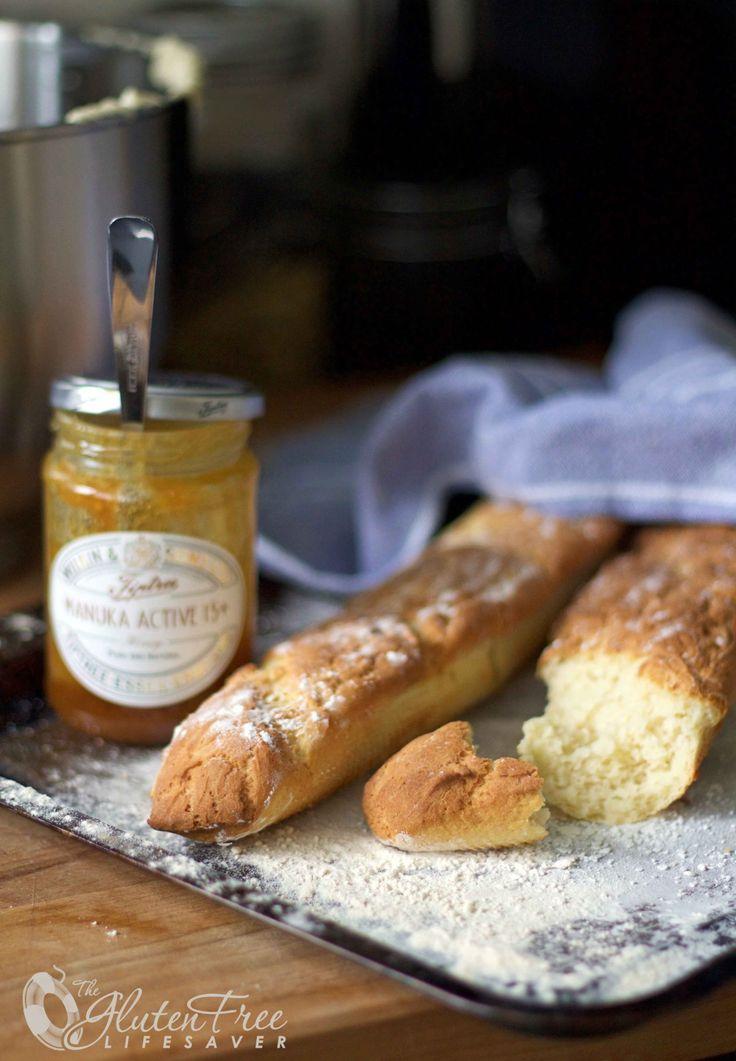 The Best GlutenFree Crusty French Bread (Baguette) Recipe