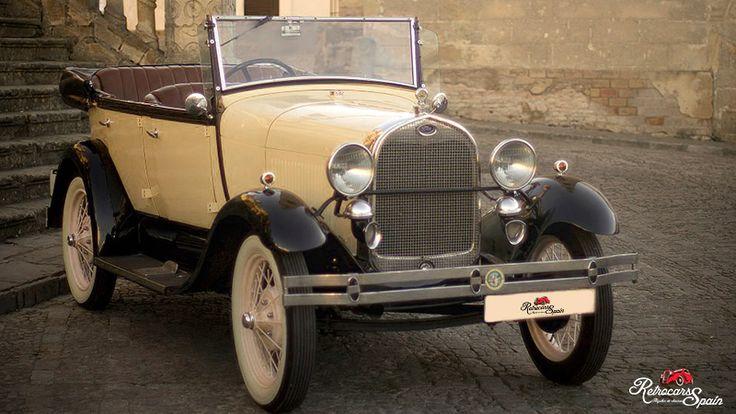Alquiler de coches clasicos para Cadiz. Ford A 1929.