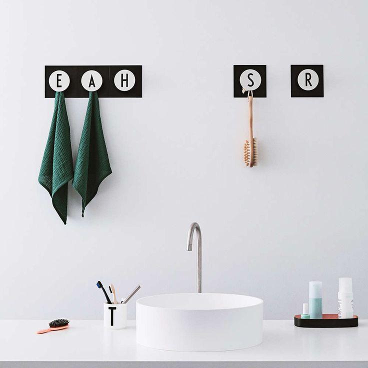 Design Letters knagg Hook2 A-Z