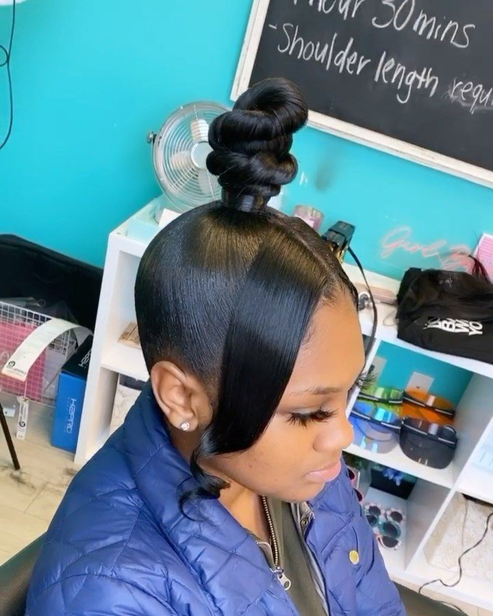 49+ Quick weave ponytail hairstyles ideas