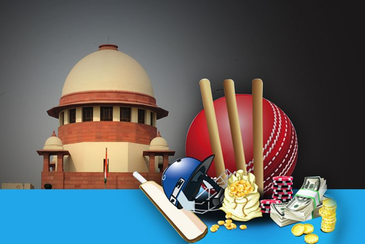 Law Commission of India is already examining the issue and it has favoured a comprehensive legislation to legalise betting and gambling