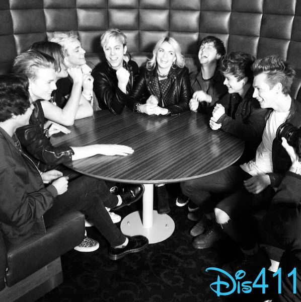 R5 and The Vamps together