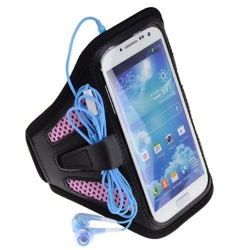 SumacLife ACTIVE Sport Armband Case for Samsung Galaxy S4 S 4 SIV / Galaxy S3 S 3 SⅢ (Pink / Black). SumacLife ACTIVE Sport Armband Compatible with Samsung Galaxy S4 / S3 (AT&T, T-Mobile, Sprint, Verizon). Case dimension :6.3×0.2×3.3 inch.Note : Please check your device dimension whether suit this case before purchasing. Adjustable Armband gives you the versatility of carrying your device in a variety of ways. Provides protection and prevents scratches, chips and dirt from accumulating....