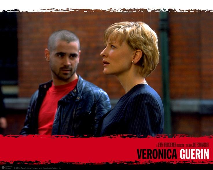 "Cate Blanchett (with Colin Farrell) in ""Veronica Guerin""."