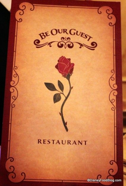"The ""Everything On the Menu!!"" Dinner Review of the Be Our Guest Restaurant in New Fantasyland at Walt Disney World's Magic Kingdom."