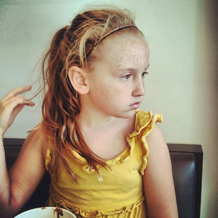 My Freckled Girl  Freckle Face, Beauty, Hair Styles-1774