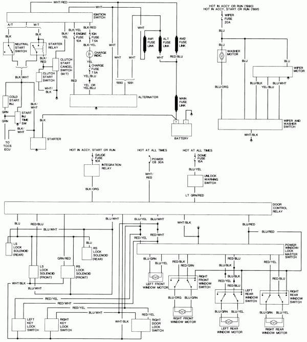 17 1990 Toyota Truck Radio Wiring Diagram Truck Diagram Toyota Hilux Toyota Electrical Diagram