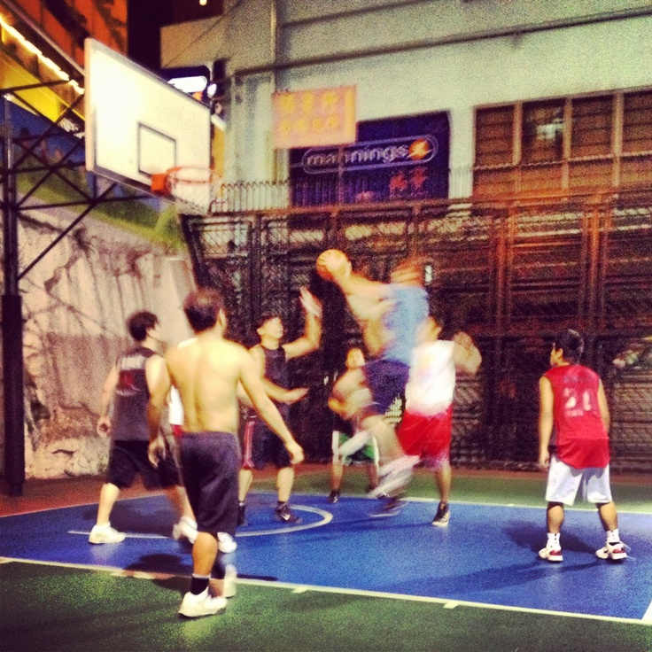 Hong Kong street basketball