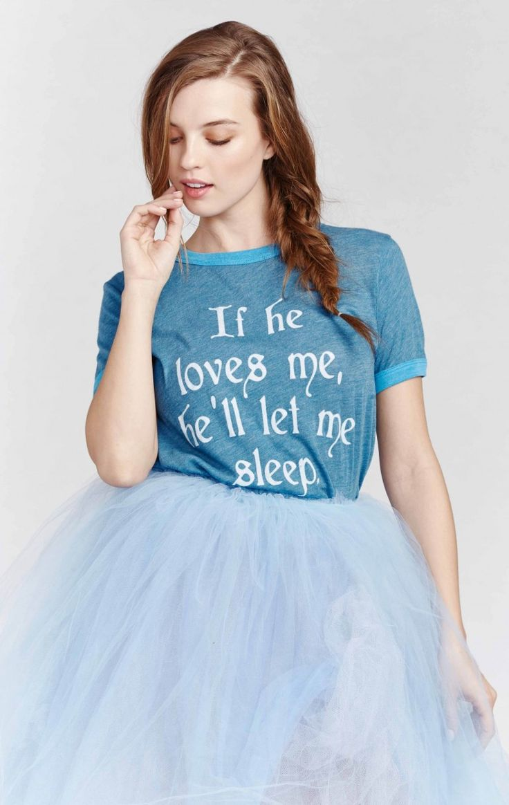 Wildfox Couture If He Loves Me Vintage Ringer Tee