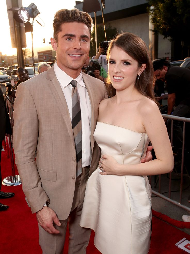 Pictured: Zac Efron and Anna Kendrick
