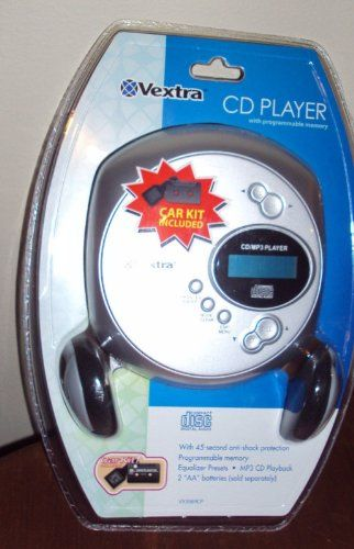 VEXTRA CD / MP 3 PLAYER WITH PROGRAMM... $5.99 #bestseller