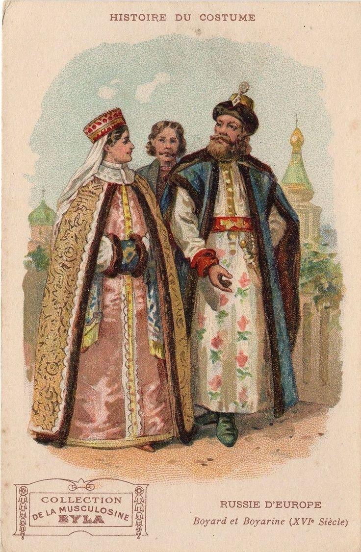 Типы русских нарядов